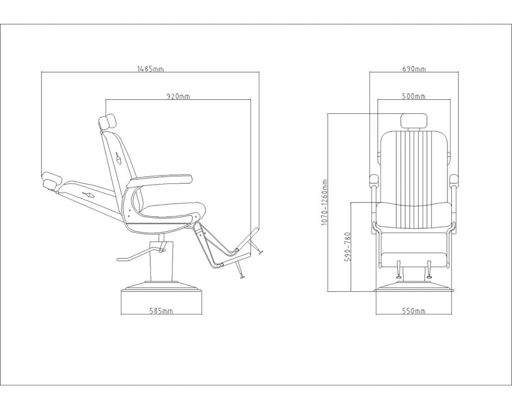 Hair cutting chair dimensions - Powered By Google Translate