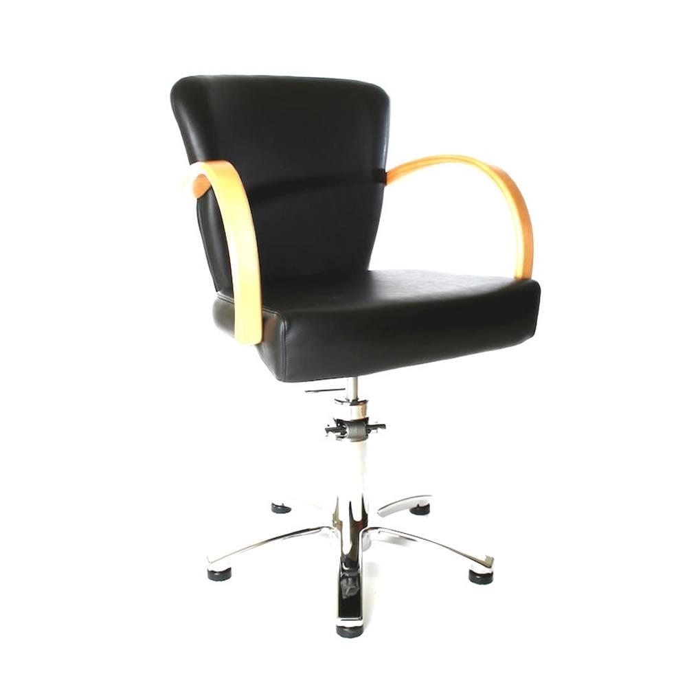 Wood Hydraulic Arm : Wbx grande wood hydraulic styling chair europe