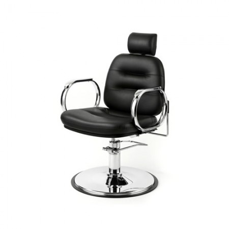 WBX Comforto Chrome Hydraulic Reclining/Styling Chair