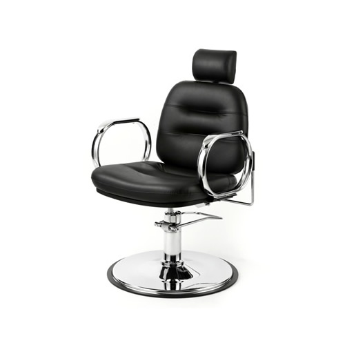 Wbx Comforto Chrome Hydraulic Reclining Styling Chair